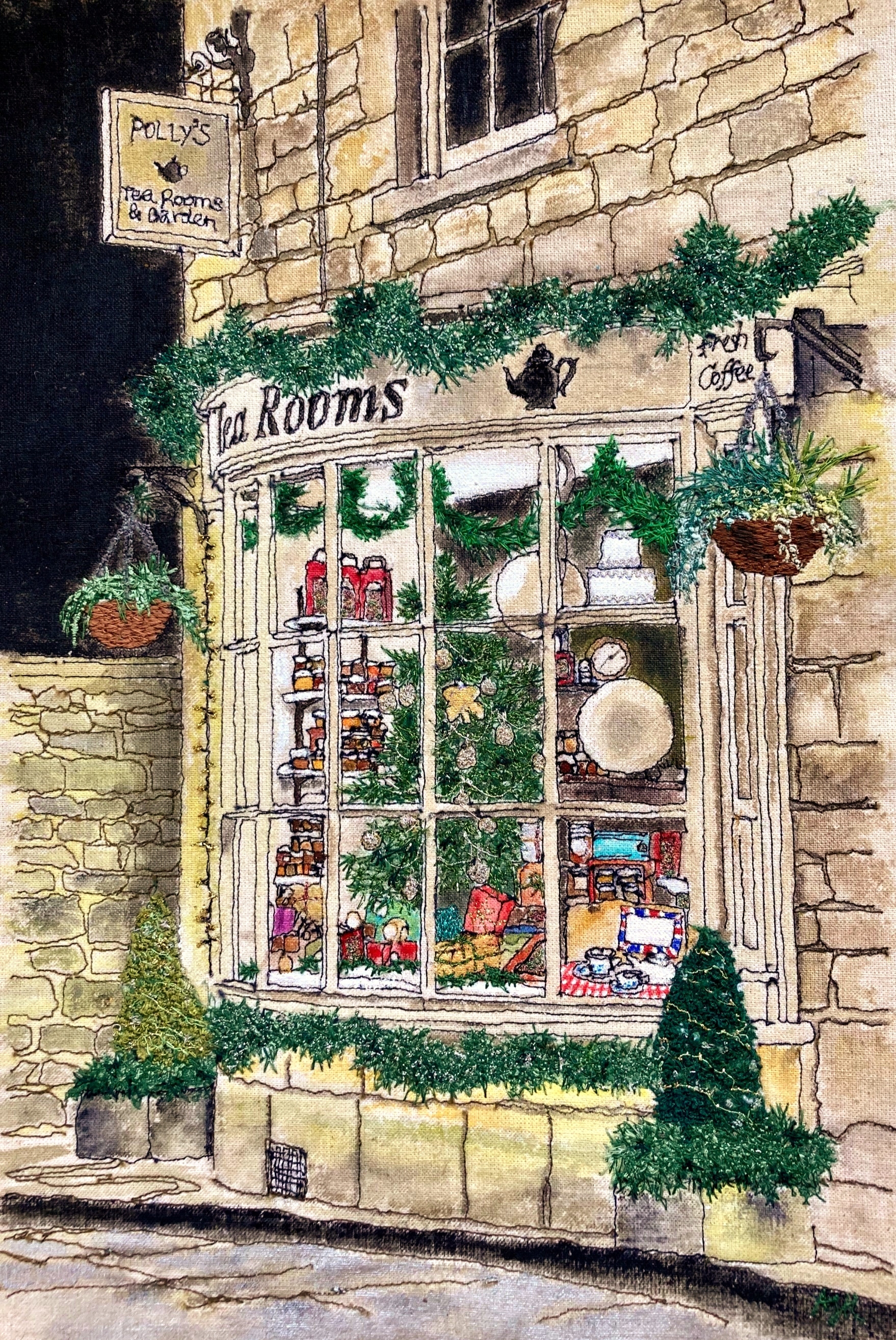 'Cotswold Tea Shoppe'