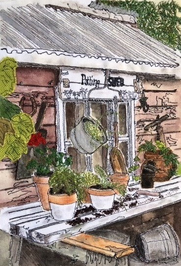 'The Potting Shed'  SOLD