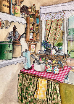 'Nana Rose's Scullery'