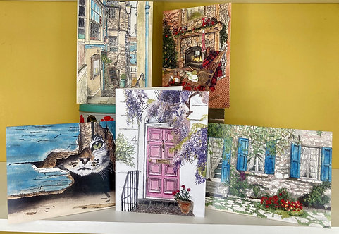 Greetings Card selection - Pack of 5 - Collection 2