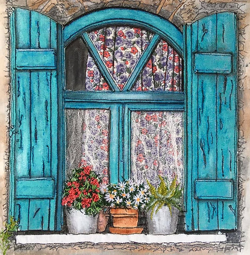 'Greek House Window'