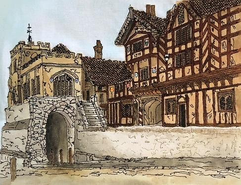 'Lord Leycester Hospital', Warwick,England