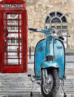 'Lambretta In The City'
