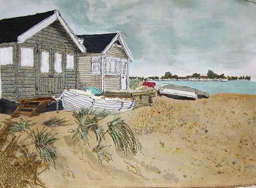 'Beach Huts' - SOLD