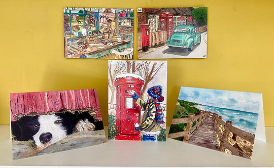 Greetings Card selection - Pack of 5 - Collection 3