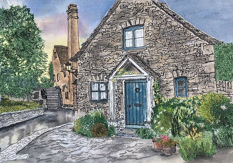 'The Old Mill'