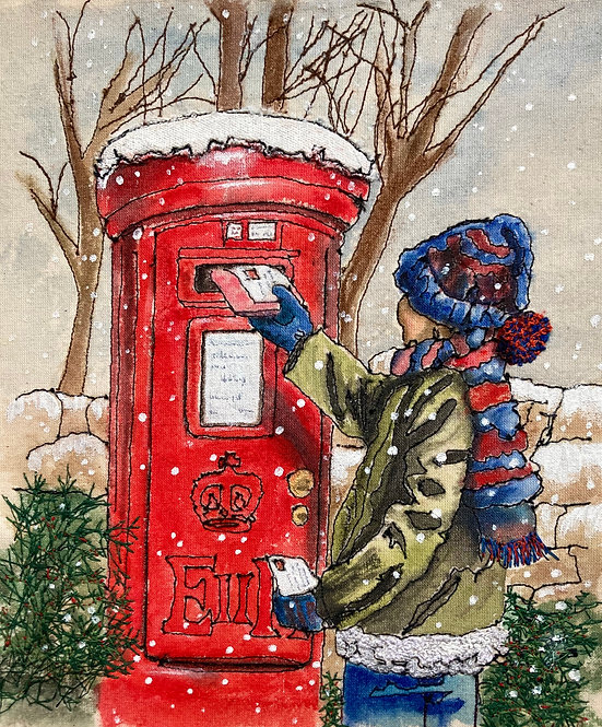 'The Christmas Card' - SOLD