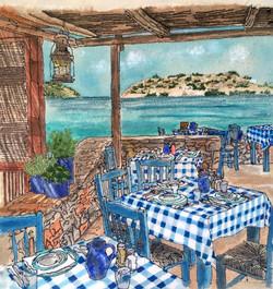 'Blue Door Taverna'