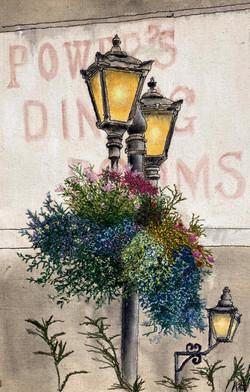 'Lamp Posts, Killarney'