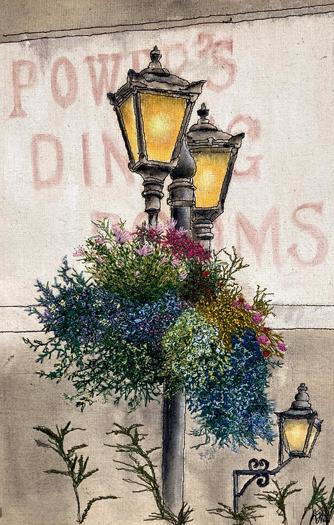 'Lamp Posts, Killarney, Ireland'
