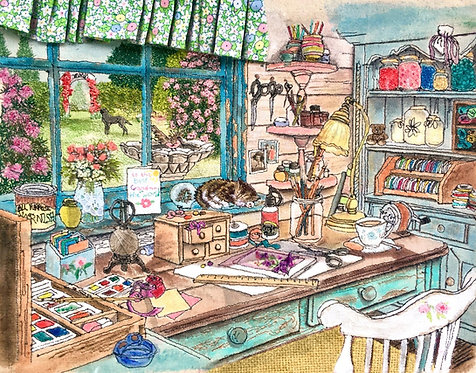 'The Crafting Shed' - SOLD