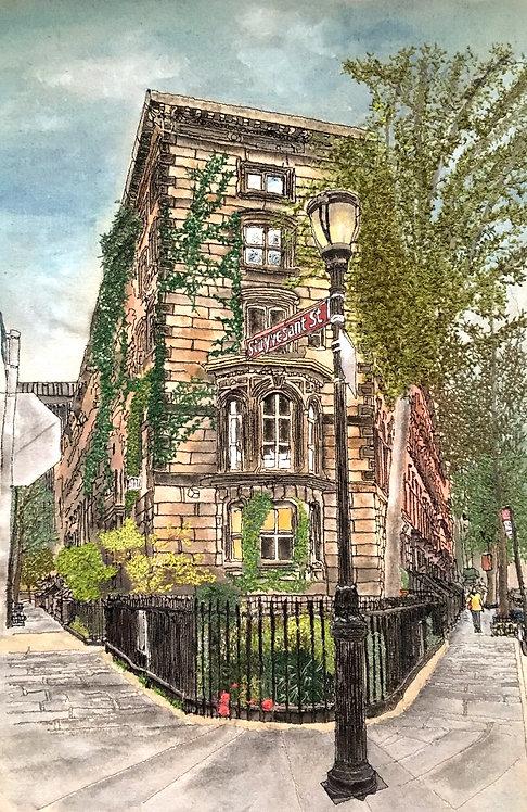 'Stuyvesant St, East Village' NYC.
