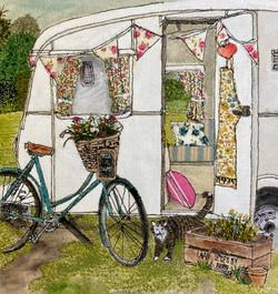 'Vintage Caravan'