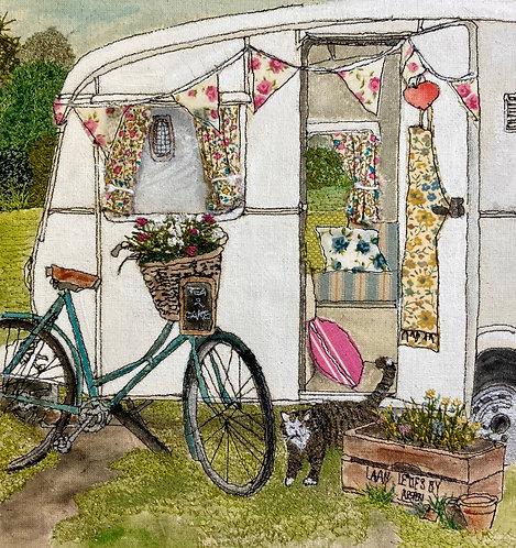 'The Vintage Caravan' - SOLD