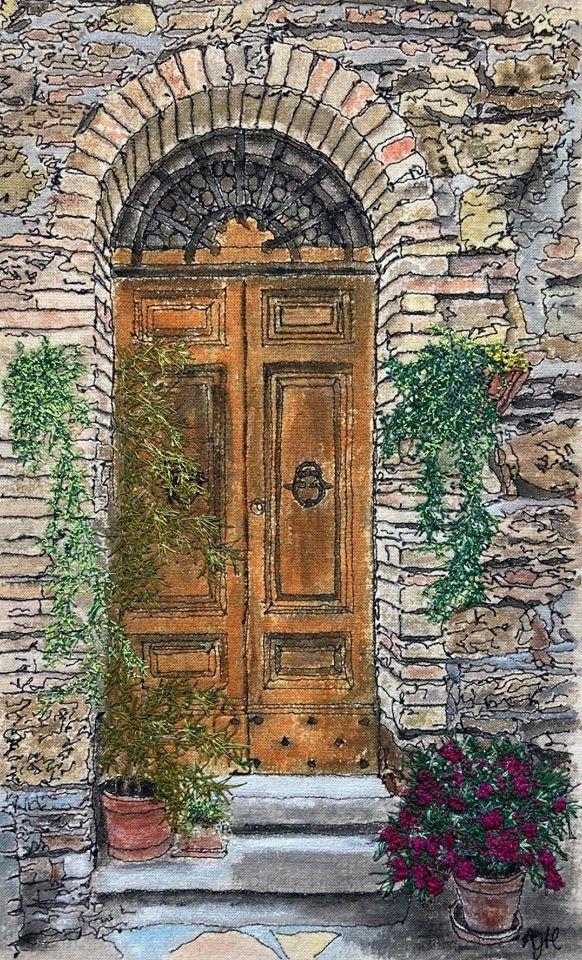 'Puglia Doorway'