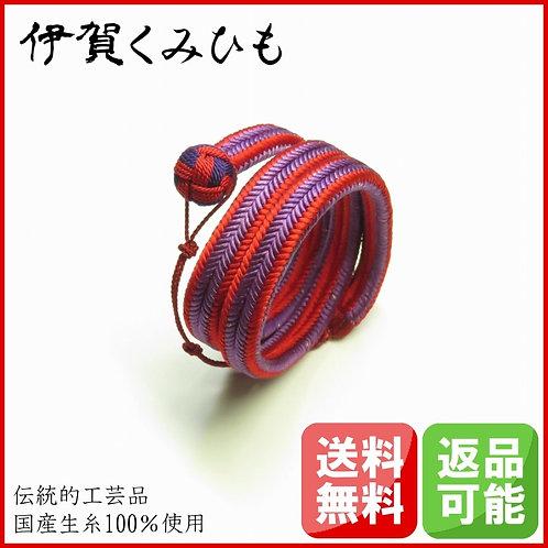 ブレスレット小田巻 スーパーロング(赤・紫)