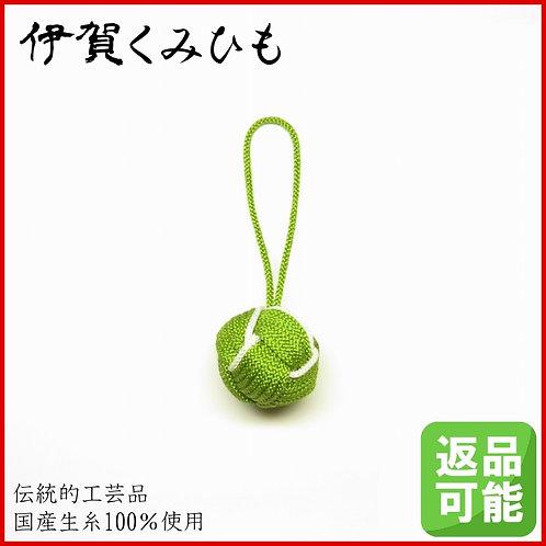 バッグチャーム キーホルダー 特大小田巻(緑色)