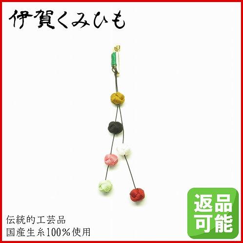 揺れる小田巻ブローチ(緑)