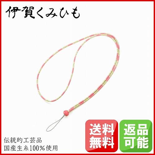 ネックストラップ(小田巻、牡丹色)