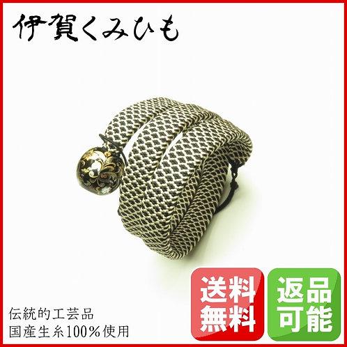 ブレスレット銀飾り スーパーロング(黒・白)