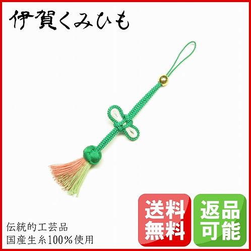 携帯・バッグチャーム 小田巻(緑色・茶)