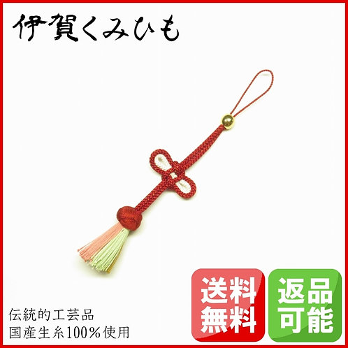 携帯・バッグチャーム 小田巻(赤色・茶)