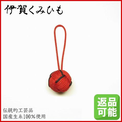 バッグチャーム キーホルダー 特大小田巻(赤色)