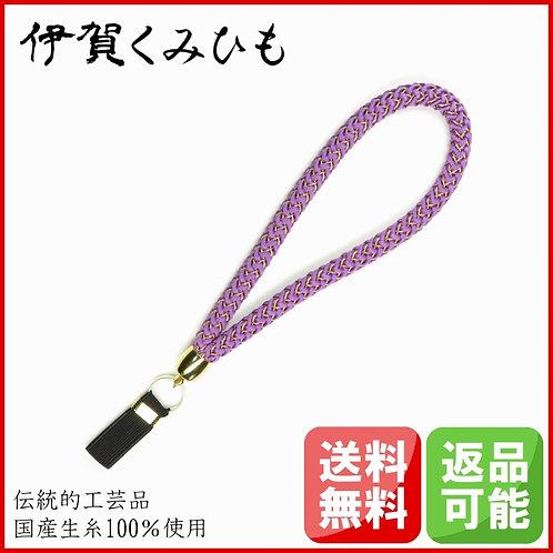 杖ストラップ 源氏織 (若紫)