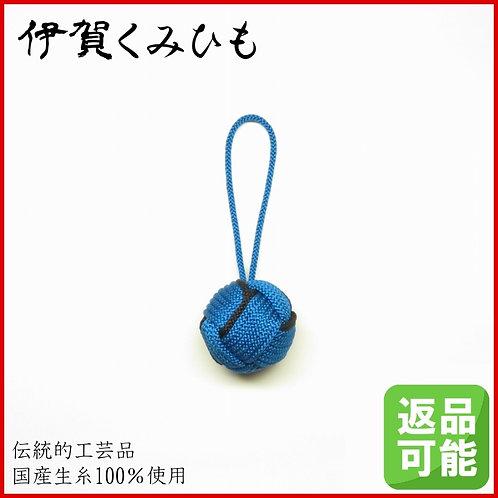 バッグチャーム キーホルダー 特大小田巻(青色)