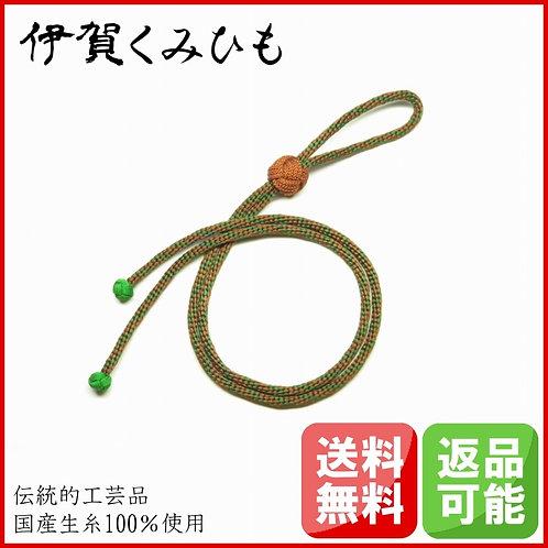ループタイ 金剛織 小田巻 (茶・緑)