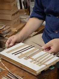 Yosegi is a Japanese marquetry art born more than 200 years ago in Hakone, Japan