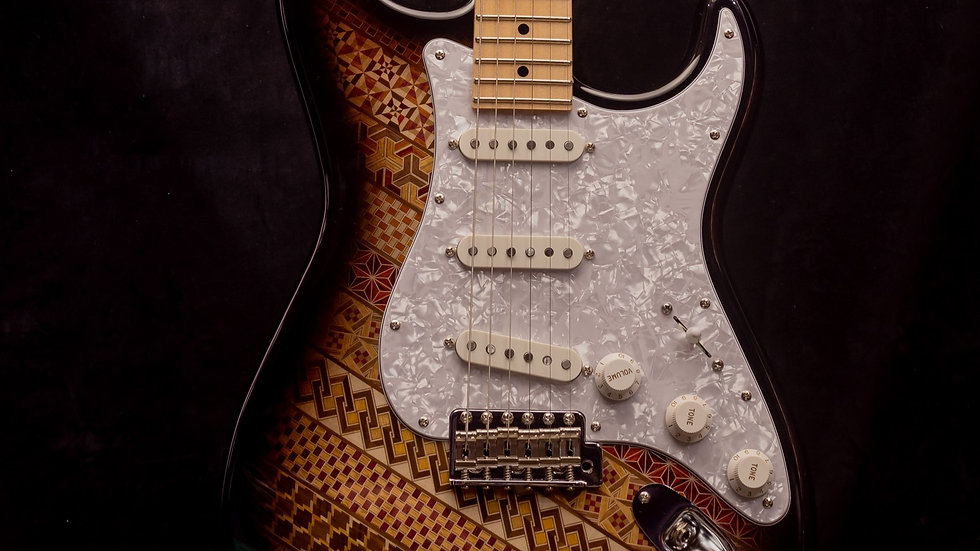 Yosegi Stratocaster style Sengoku