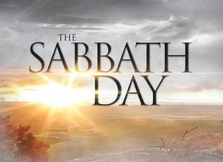 Keeping the Sabbath?