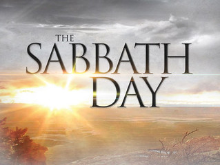 Keeping the Sabbath?