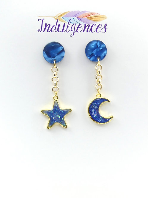 Star and Moon hanging