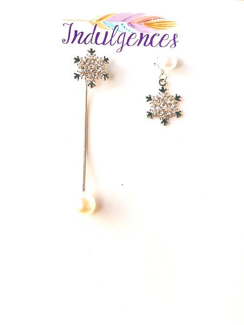 Golden unmatching snowflakes EABG