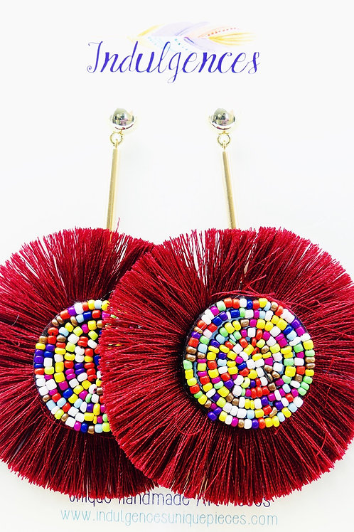 Rounded beaded Tassel EACE