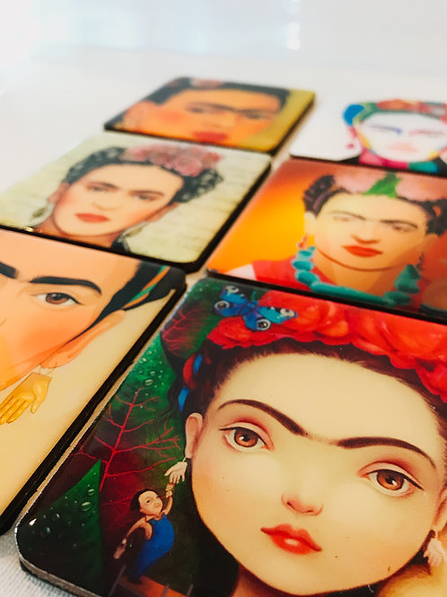 Frida Inspired Coasters