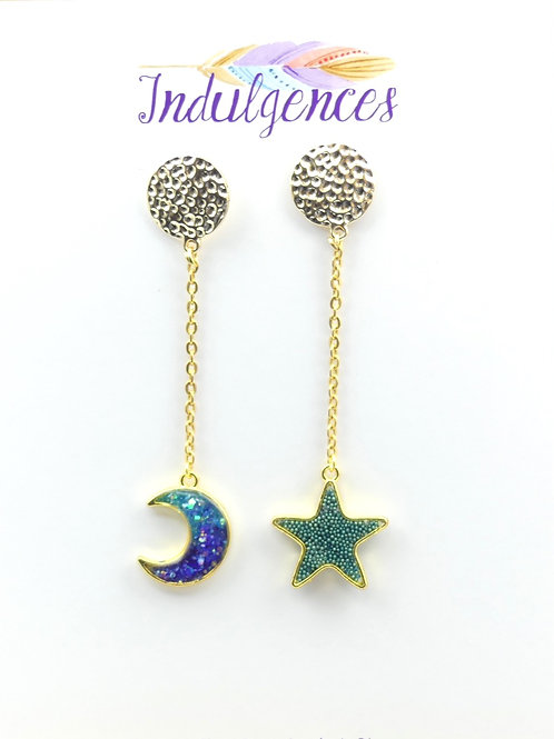 Star and Moon hanging 3