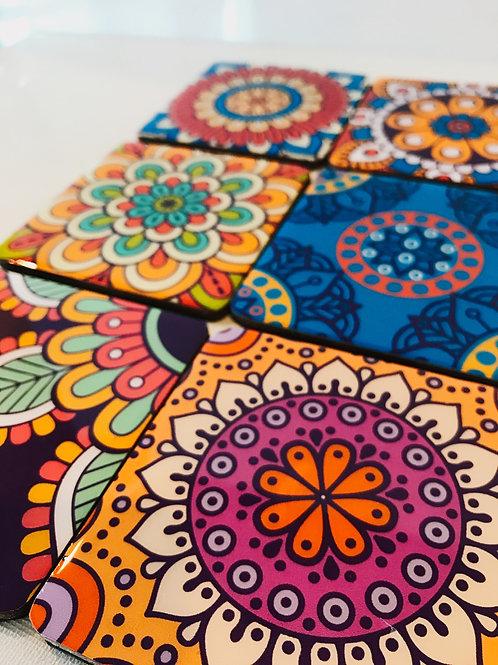 Mandala Designs Coasters