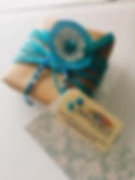 Jewelry piece giftwrapped