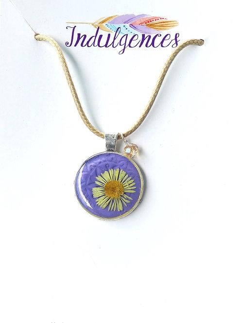 Yellow flower in purple NKCI