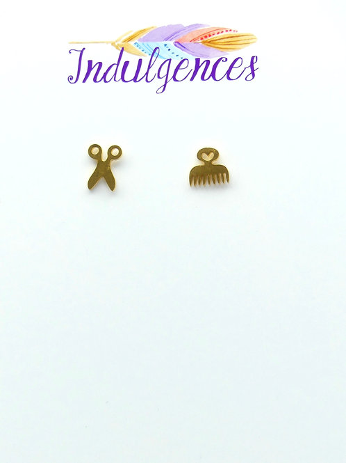 Hair Stylist Inspired Earrings