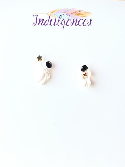 Astronaut Earrings EABJ
