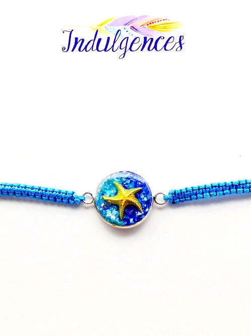 Turquoise Bracelet with Starfish