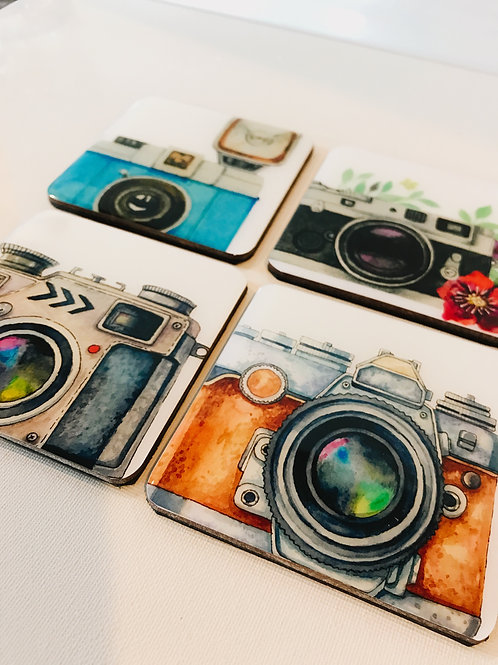 Camera Inspired Coasters