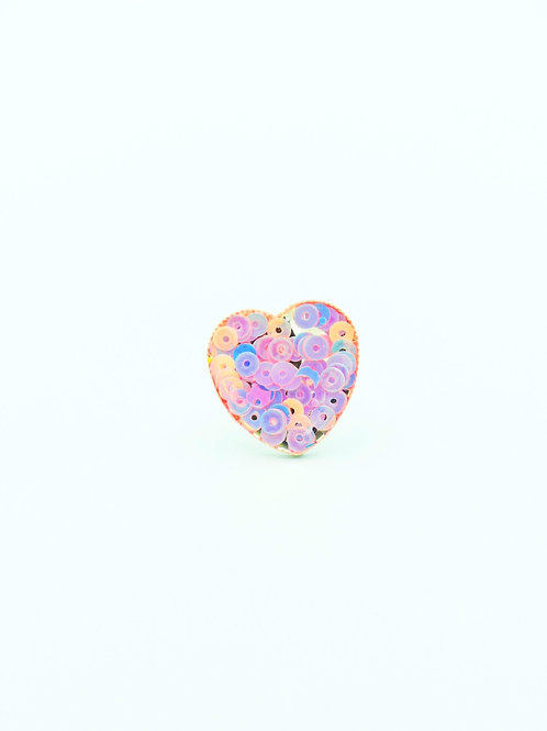 Heart of Sequins Ring