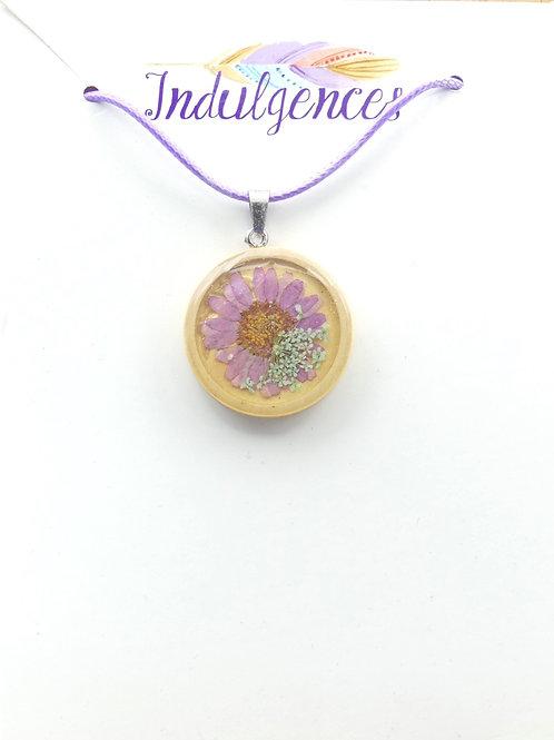 Purple flower in wood NKDX