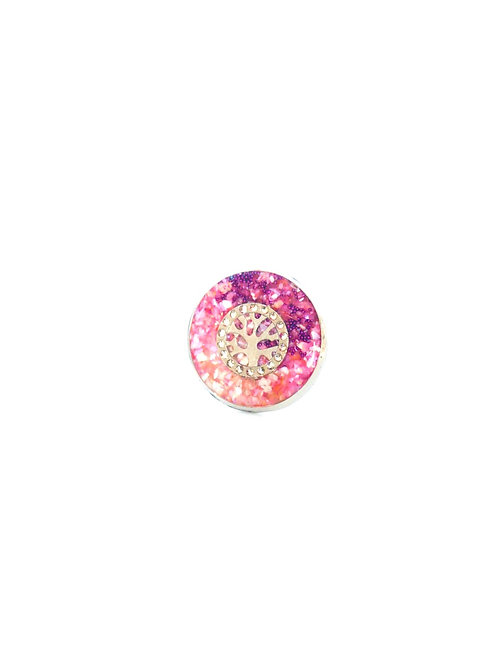 Tree of Life in Pink Ring