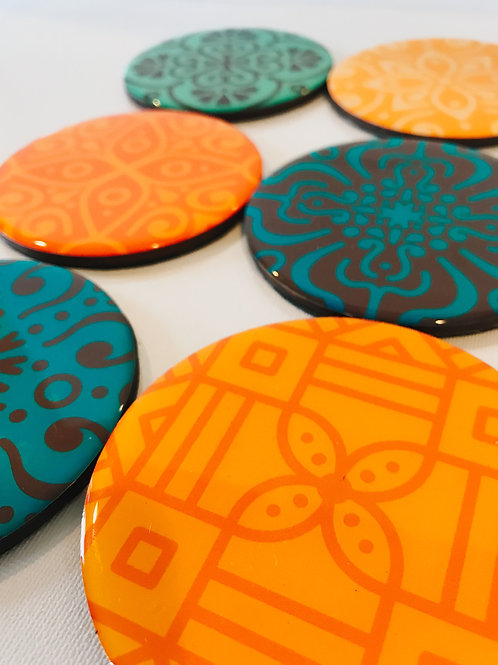 Abstract Inspired Coasters